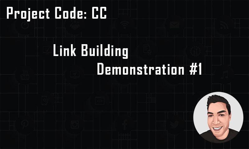 Link Building Demonstration #1